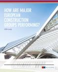 Mazars study 2016 – European construction groups